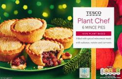 Tesco Plant Chef Mince Pies