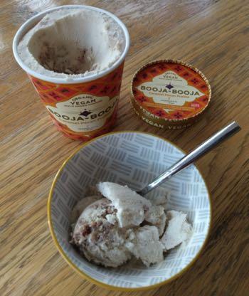 Booja-Booja Ice Cream in a Bowl