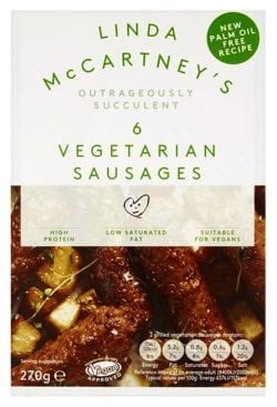 Linda McCartney Vegetarian Sausages