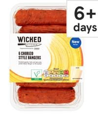 Wicked Kitchen Chorizo Bangers