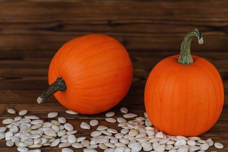 Pumpkins and pumpkin seeds