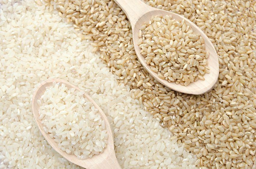 Brown & White Rice