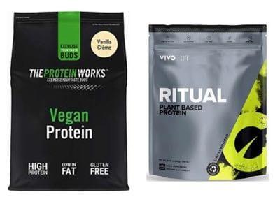 The Protein Works Vegan Protein & VivoLife Ritual Plant Based Protein