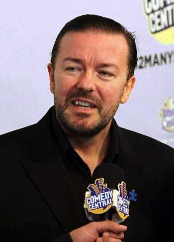 Ricky Gervais in 2010