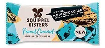 Squirrel Sistres vegan protein bar