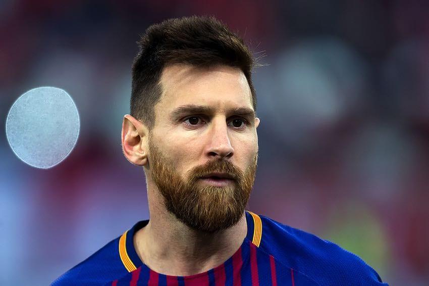 Lionel Messi close-up