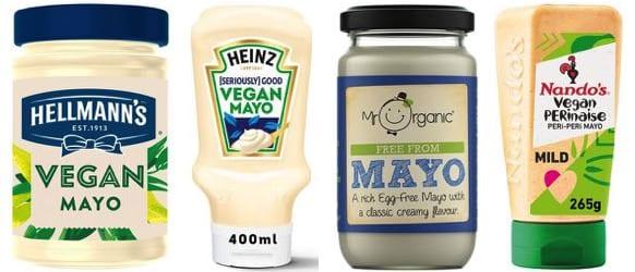 Vegan mayo options