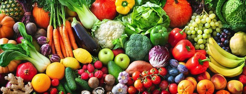 Fruits & vegetables concept