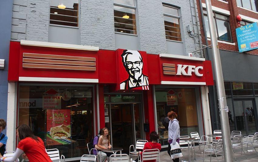KFC in Belfast, Ireland