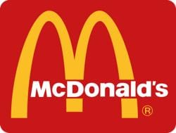 Older McDonald's logo