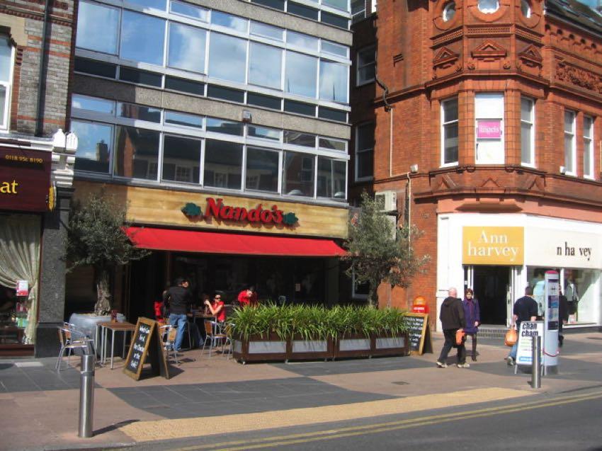 Nando's in Reading, UK