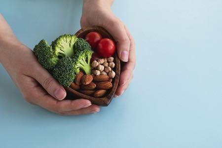 Vegan arthritis concept