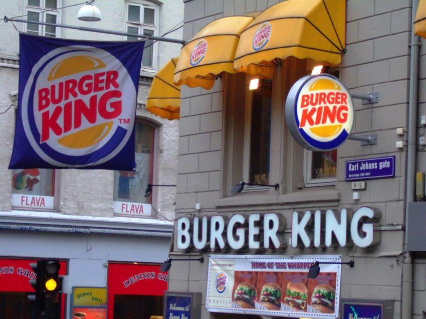 Burger King in Oslo, Norway