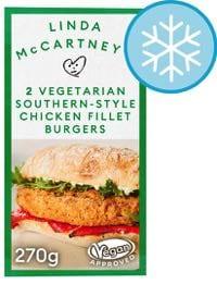Linda McCartney Vegetarian Southern Chicken Burgers
