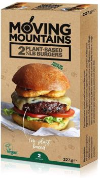 Moving Mountains Plant-Based ¼lb Burgers