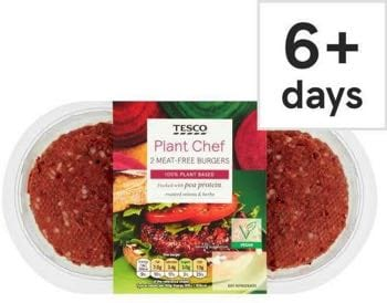 Plant Chef Meat Free Burgers