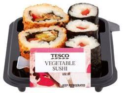 Tesco Vegetable Sushi (127g)