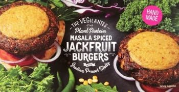 Vegilantes Masala Spiced Jackfruit Burgers