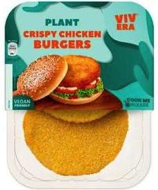 Vivera Plant Chicken Burger