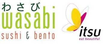 Wasabi Itsu logos