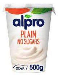 Alpro Plain No Sugars