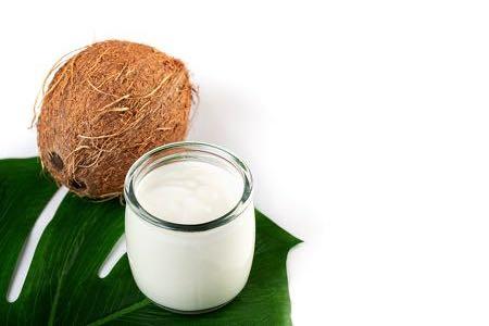 Organic coconut yogurt