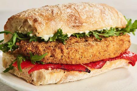 Linda McCartney's Seasoned Vegetarian Chicken-Style Burgers