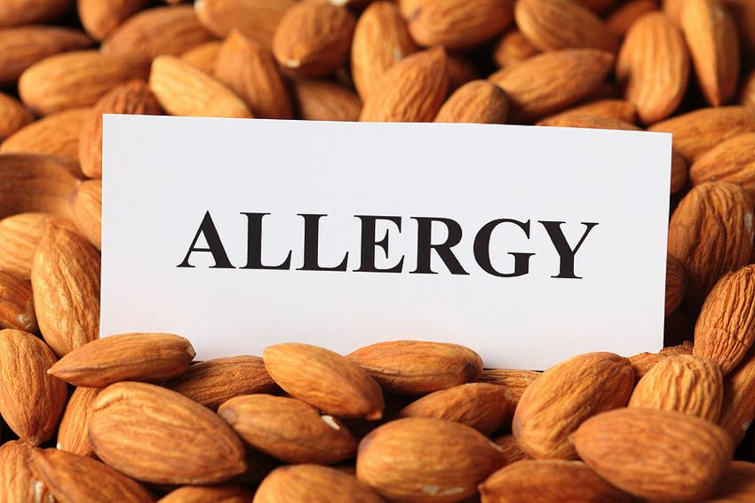 Almond allergy