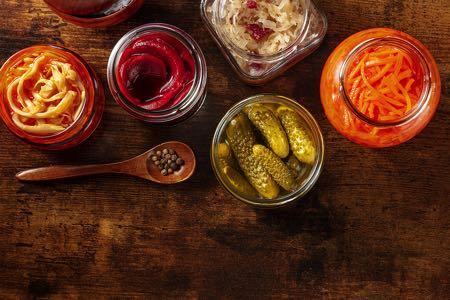 Fermented probiotic foods