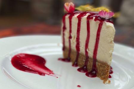 Make No Bones cheesecake