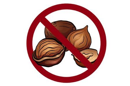 No nuts cartoon