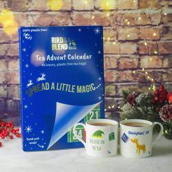 Vegan tea advent