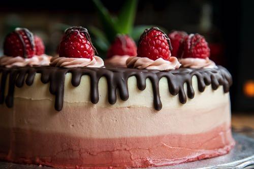 Thrive vegan cake